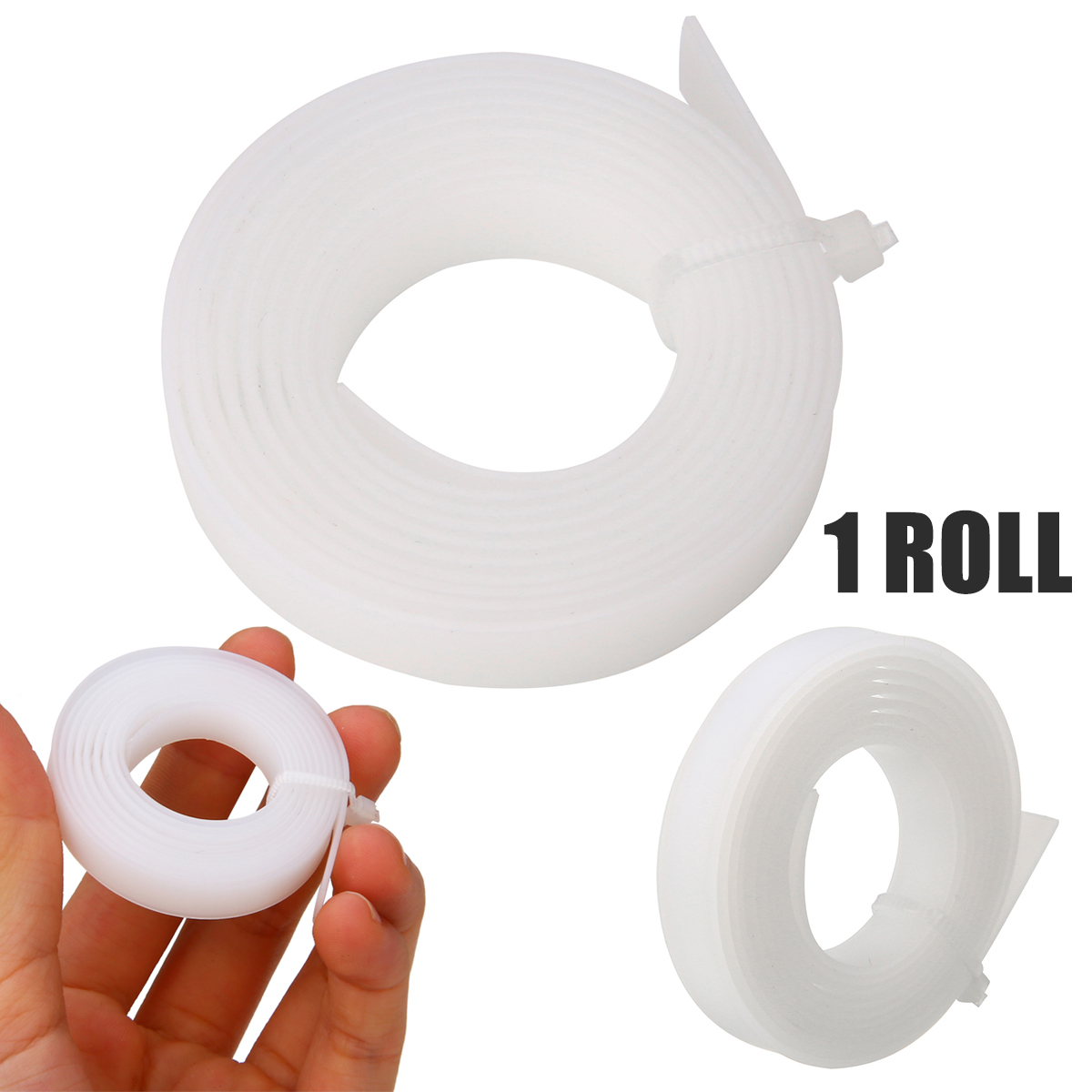 1 Roll Cutting Plotter Blade Strip White Protection Guard Vinyl Cutter Plotter Strip 100cmx8mm