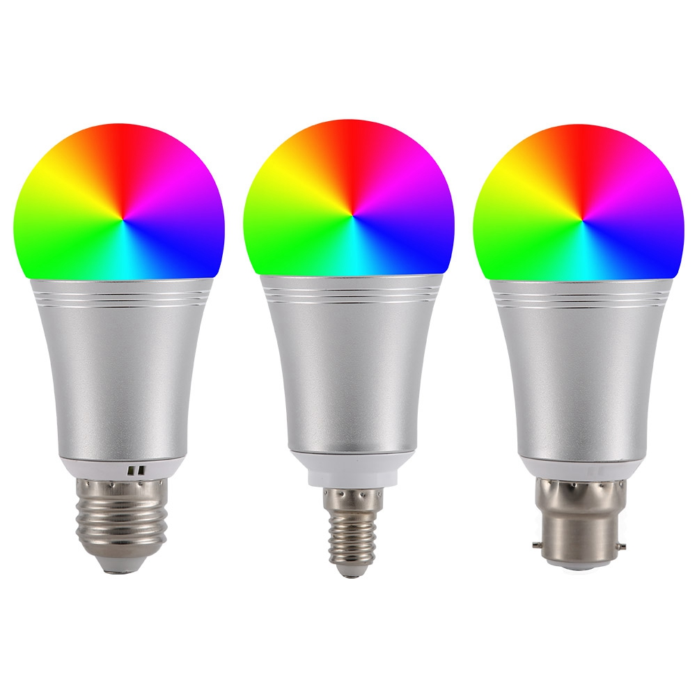 RGB LED 6 Watt Stand Steh Leuchte Büro Farbwechsel Fernbedienung Big Light