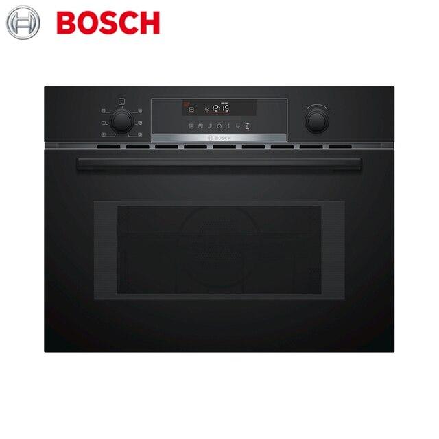 Компактный духовой шкаф с интегрированной микроволной печью Bosch Serie 6 CMA585MB0