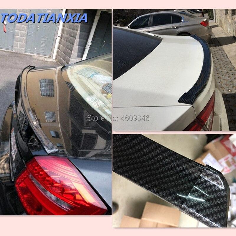 Car Spoiler Carbon Fiber for renault megane 4 bmw x1 suzuki jimny mercedes benz opel corsa c qashqai nissan for suzuki kia