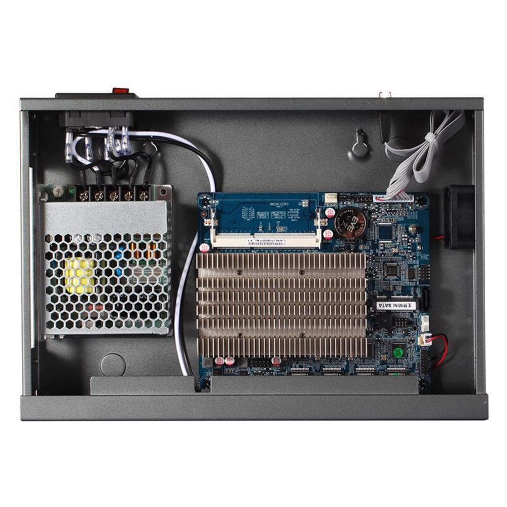 Брандмауэр Mikrotik Pfsense vpn-сетевая безопасность устройства маршрутизатор ПК Intel quad core COM J1900, [HUNSN SA18R], (4LAN/LAN/2USB/1VGA)