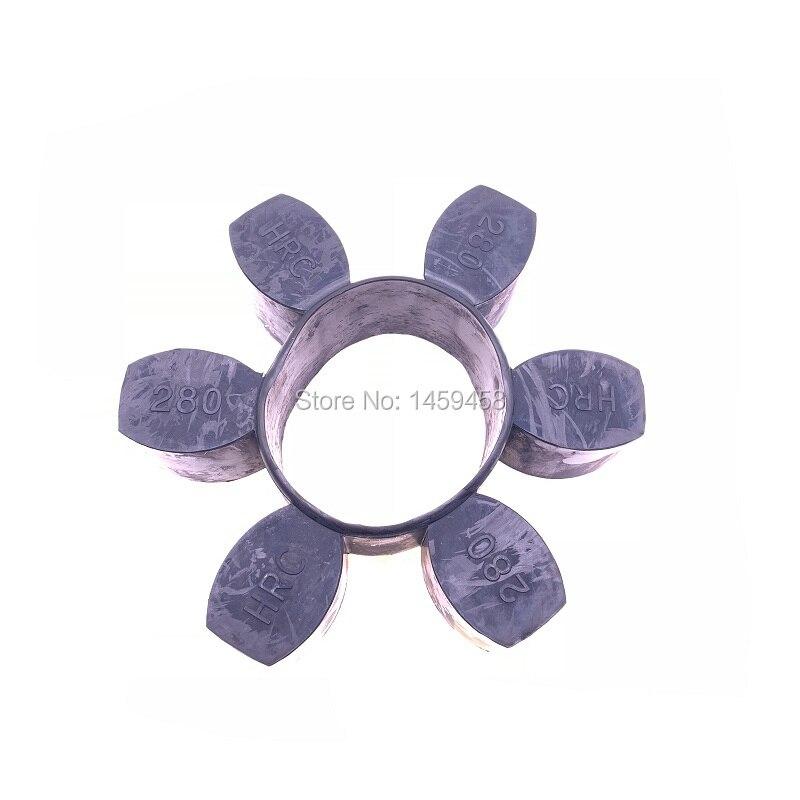 Trasporto libero HRC280 di gomma anti-vibrazione pad accoppiamento elemento per il compressore dariaTrasporto libero HRC280 di gomma anti-vibrazione pad accoppiamento elemento per il compressore daria