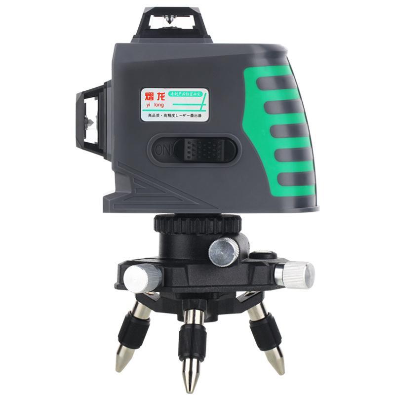 12 ligne Niveau Instrument Vert Lumière De Haute Précision Automatique Nivellement Électronique 3D Mur Compteur #40
