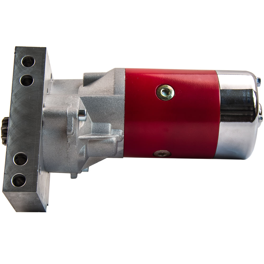 Small and Big Block Starter Motor For CHEVY GM 2.2kw Gear Reduction Mini Starter Motor Hi Torque 350 454 700HP 153 or 168 Tooth