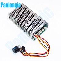 Promo 10-50V 100A 5000W Programable Reversible controlador de velocidad del motor de CC Control PWM 12V 24V 36V 48V 48V con interruptor inverso