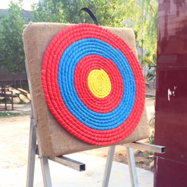 ce3526e696d 1Pcs Outdoor Sports Archery Straw Bow Arrow Target Single Layer Bow Hunting  Shooting Lightweight Shooting Board Accessories