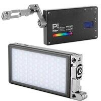 Pocket Boling BL P1 RGB LED Video Light Dimmable Full Color Studio Vlog Photography Lighting with 360 Bracket for DSLR Camera