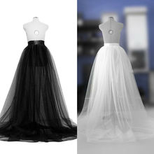 Hirigin Brand Sexy Elegant Chiffon Long Skirt Women A-line Tulle Tutu Long