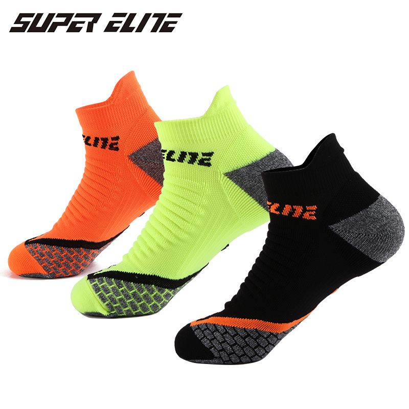 SUPER ELITE Crazy Men Cycling Sock Lycra Ankle Running Basketball Champion Sports Funny Sky Black Hiking Women Loafer Mens Sport