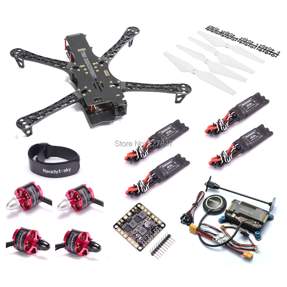 FPV Quadrocopter X500 500 500-V2 Alien Frame 500mm 2212 920KV Motor APM2.8 8N GPS For GoPro Multicopter BlackSheep