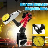 Мини Гибкий циферблат тесты индикатор Магнитный держатель стенд 350 мм + Фаулер желто-циферблат тесты индикатор