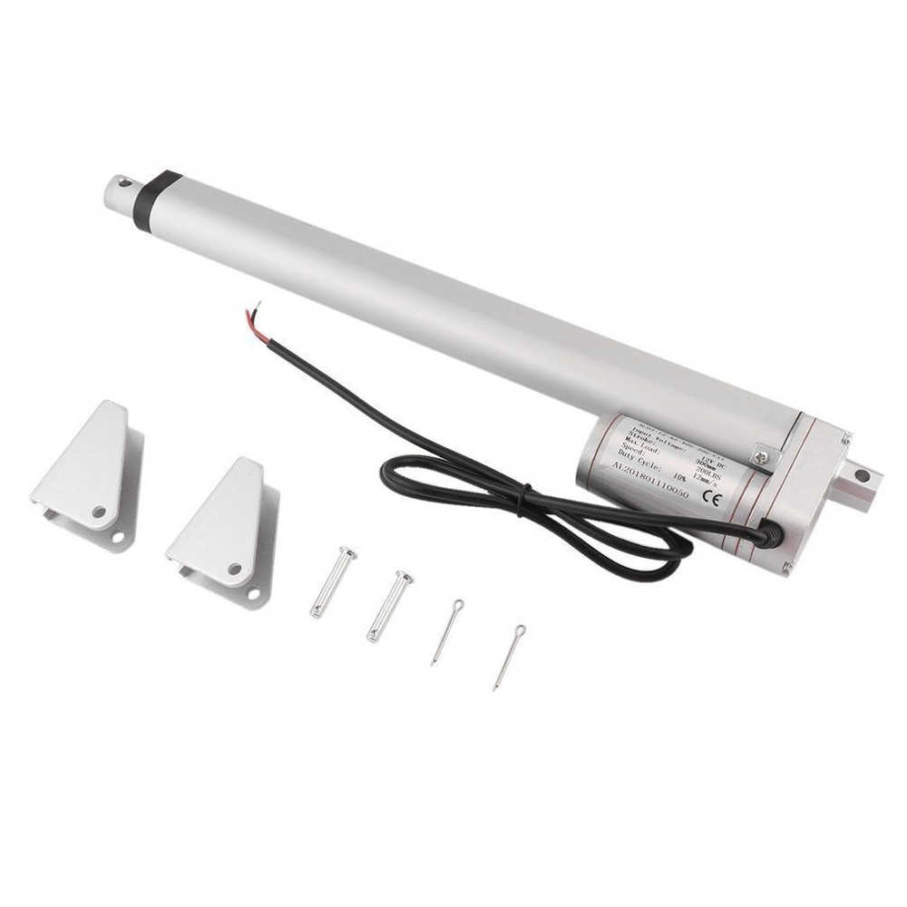 small resolution of  electric linear actuator 12v dc motor linear motion controller with limit switch controller bed lift table