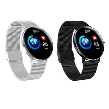 L6 Touch Screen IP68 Waterproof Dynamic Heart Rate Monitor Sport Smartwatch ultra-thin curved surface Swimming smart bracelet