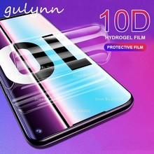10D Curved Full Cover Hydrogel Film For Samsung S10 E Plus A 20 30 40 50 M10 M20 Soft Screen Protector J 4 6 Protective