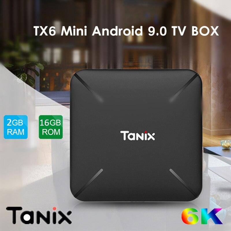 All kinds of cheap motor tanix tx6 mini tv box android 9 0