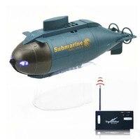 Mini RC Submarine Speedboat Remote Control Pigboat Simulation Model Toy Radio Control Wireless RC Submarine Model Toy