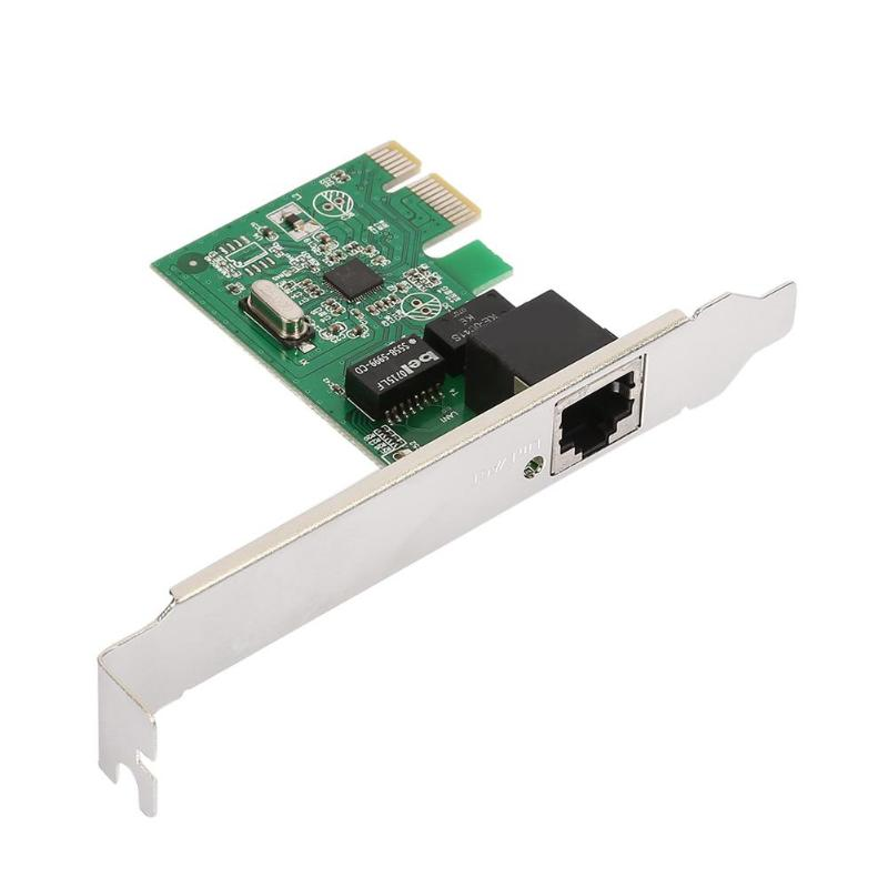 PCI Express PCI-E Network Controller Card 10/100/1000Mbps RJ45 Lan Adapter
