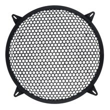 Сабвуфер сетка автомобильный динамик усилитель Гриль Крышка Сетка-10 дюймов
