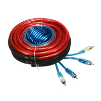 1pc 4 Gauge Amp Kit Amplifier Install Wiring Complete Installation Cables 2800W Auto Car Styling Accessories Cable Wire