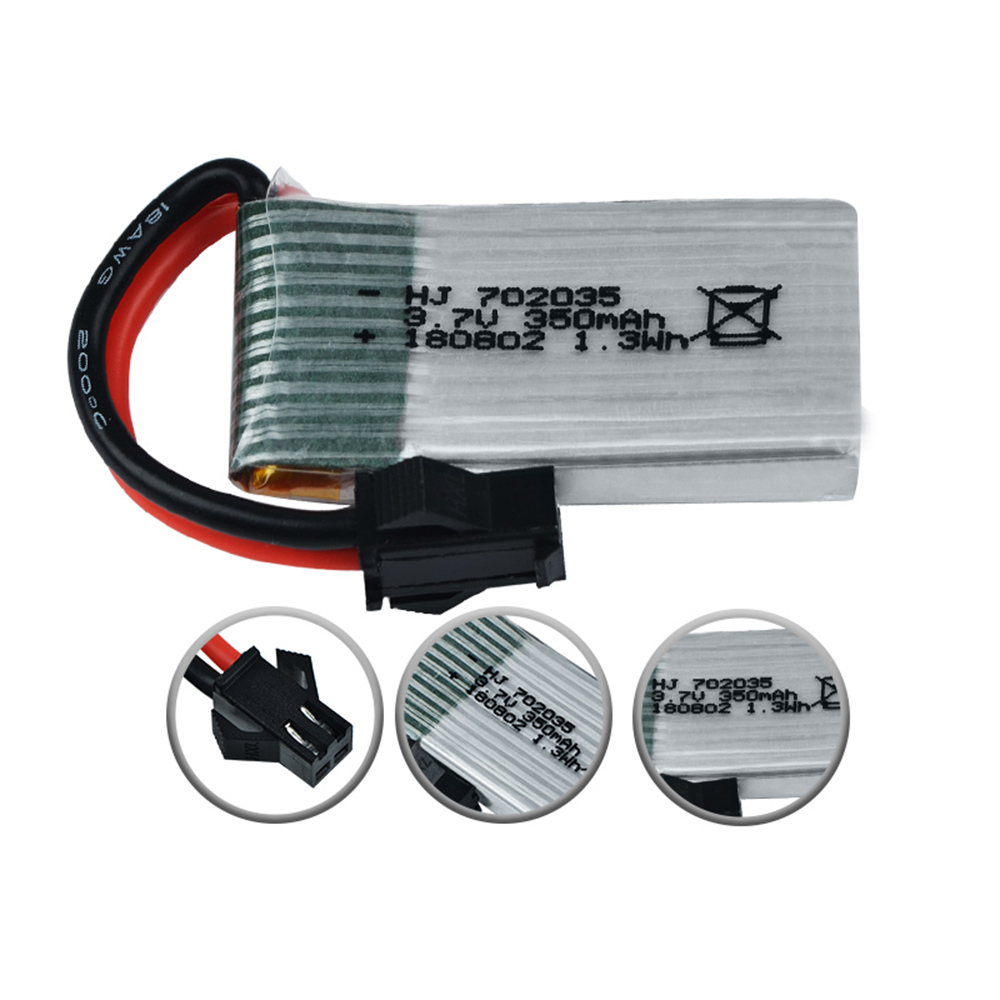 <font><b>3.7V</b></font> <font><b>350mAh</b></font> 20C Li-po <font><b>battery</b></font> For TT661 TT662 TT663 TT664 TT665 TT667 RC transformer rc car rc toy image