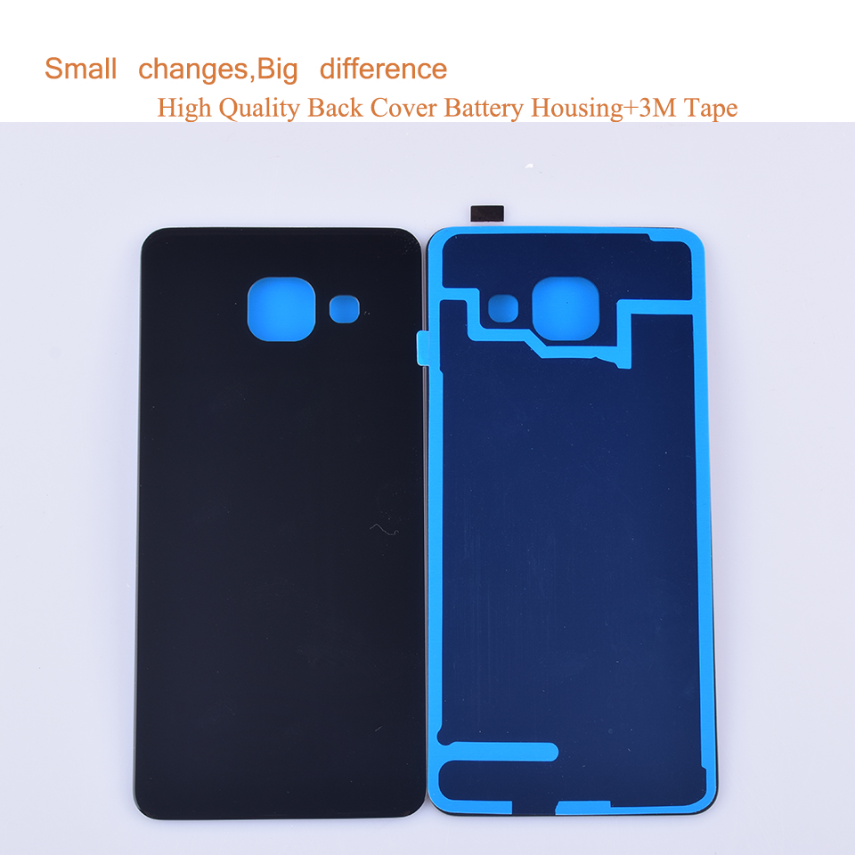 50Pcs lot For Samsung Galaxy A3 2016 A310 A310F A3100 Housing Battery Cover Back Cover Case Rear Door Chassis A3 2016 Shell in Mobile Phone Housings Frames from Cellphones Telecommunications