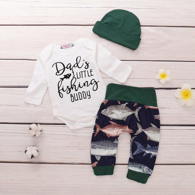 e8fa72847e382 US $6.43 |Pudcoco Newborn Baby Boy Clothes Carters Fish Cotton Vetement  Bebe Garcon Tops Romper Long Pants Leggings Hat Outfits Clothes-in Clothing  ...