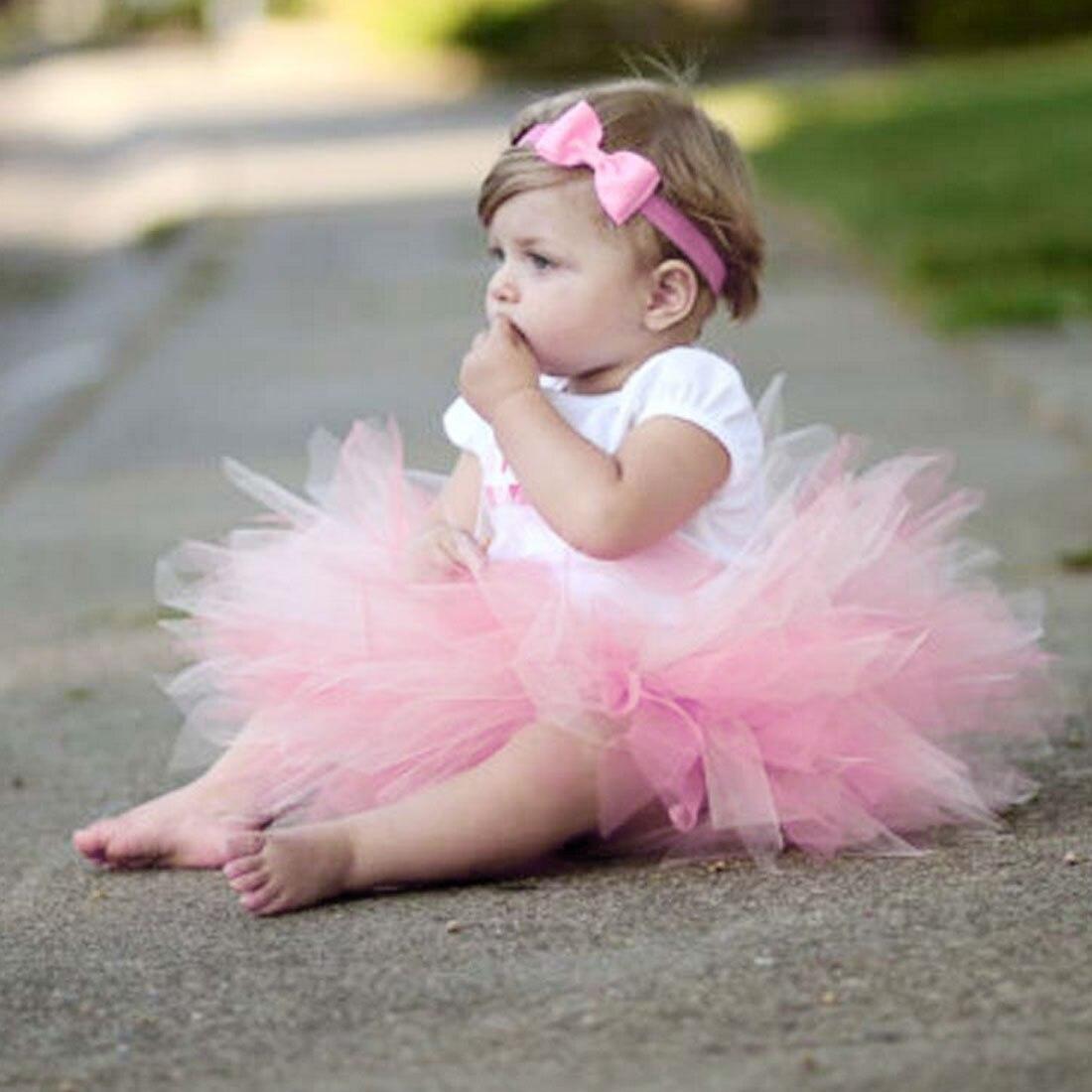 Nett Baby Mädchen Rock Prinzessin Blase Shorts Rock Mit Stirnband Neugeborenen Foto Schießen Fotografie Prop Verhindern, Dass Haare Vergrau Werden Und Helfen, Den Teint Zu Erhalten