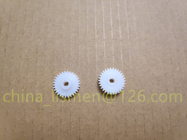 1 قطعة 30 الأسنان سيارة موتور التلقائي للطي مرآة الرؤية الخلفية البلاستيك والعتاد ل 2013 سنة مازدا M6 M3 أطلس CX 5 CX 7 سيارة