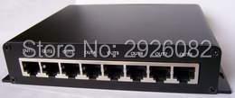 Cartão SD DMX LED pixel controlador de iluminação, 8 portas de saída DMX Controlador (on line/off line/wifi/tempo/DMX/ cinco em um), a 8 DMX