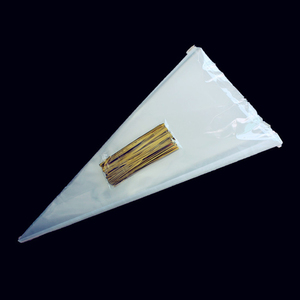 Image 1 - Organza Beutel Decor Schokolade Süße Popcorn Süßigkeiten Taschen Halloween Weihnachten Kegel Verpackung Liefert
