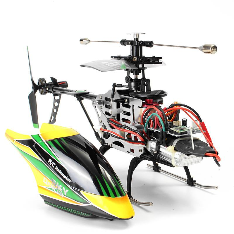Image 4 - V912 4CH Brushless RC Helicopter Single Blade High Efficiency Motor Remove Control Toys Children Birthday Gift Boy Toys-in RC Helicopters from Toys & Hobbies