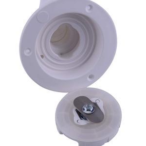 Image 5 - Water Locking Inlet Hatch Filler Cap White for Caravan Motorhome Fresh Water RV Camping Trailer Motorhome Drain Water Tank Caps