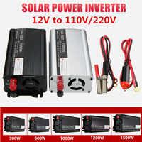 Power Inverter 600/1000/2000/2500/3000W Max 110 V/220 V 12V modifizierte Sinus Welle Spannung Transformator Konverter Auto Ladung USB