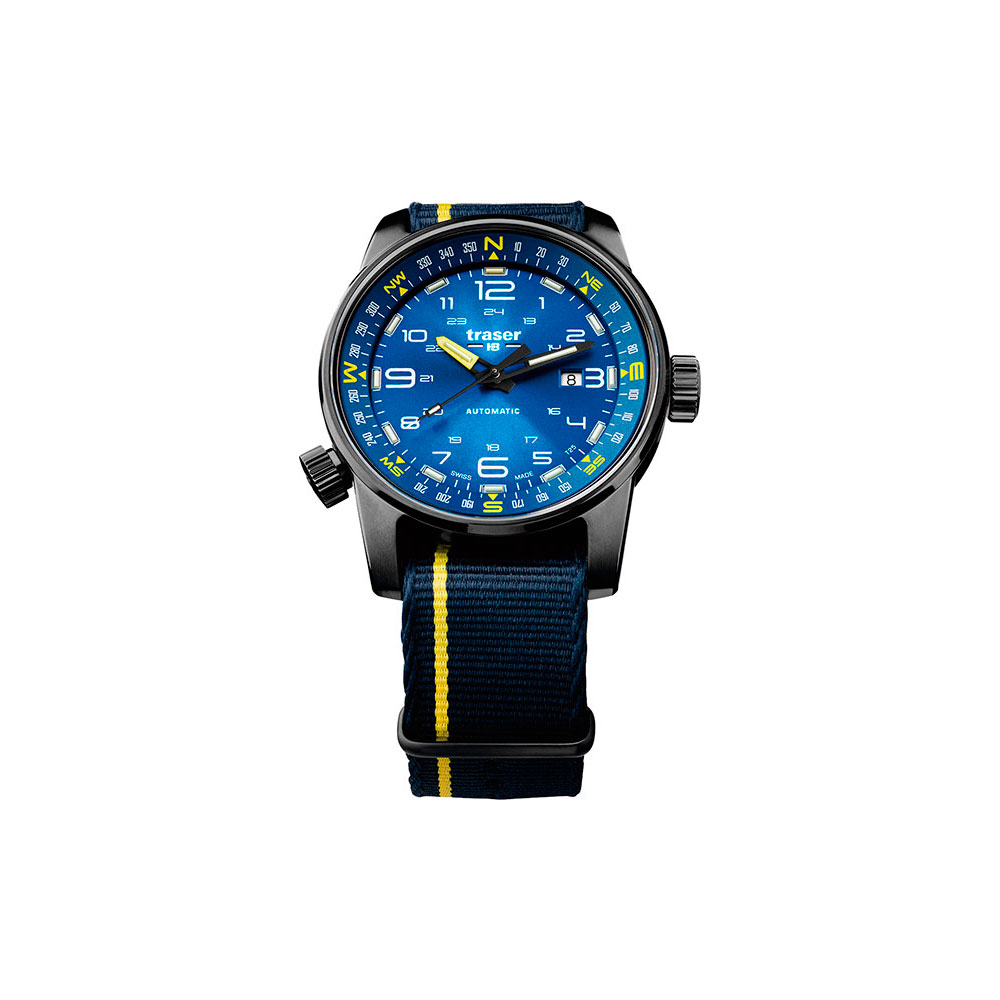 Montres mécaniques Traser pour hommes TR_107719 montres Mans montre-bracelet à remontage automatique