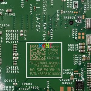 Image 4 - N7K0H 0N7K0H CN 0N7K0H w 4415U CPU for Dell Inspiron 13 5368 NoteBook PC Laptop Motherboard Mainboard