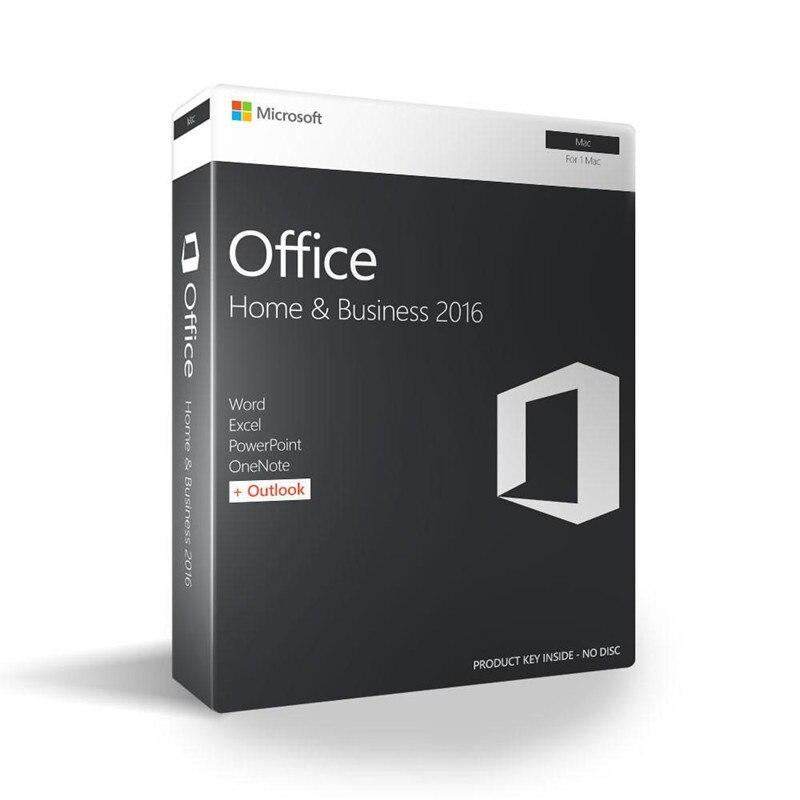 Image 5 - Microsoft Office для дома и бизнеса 2016 для Mac лицензионный Код продукта розничная торговля в коробке-in Офисное ПО from Компьютер и офис