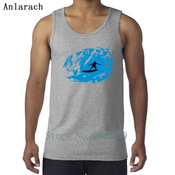 Surfer Surfings Vest Free Shipping Singlets Custom Round Neck Tank Top Men Latest Leisure 2018 Anlarach Cute 1