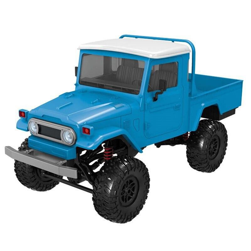 MN modèle MN-45 RTR 1/12 2.4G 4WD couleur Multiple Rc voiture et lumière LED chenille escalade voiture tout-terrain pour garçons enfants jouets