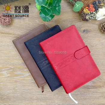 Reusability Leather Cover B5 Notebook 2020 Journal 140 Sheets Soft Agenda Diary фото