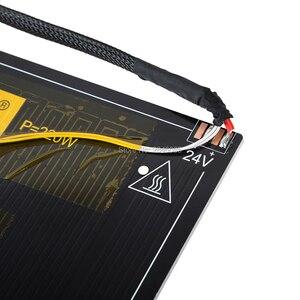 Image 2 - Creality 3D oficjalny sklep dostaw hot bed board + kable do drukarki 3D Ender 5 rozmiar 220*220*250mm fabryka części drukarki 3D