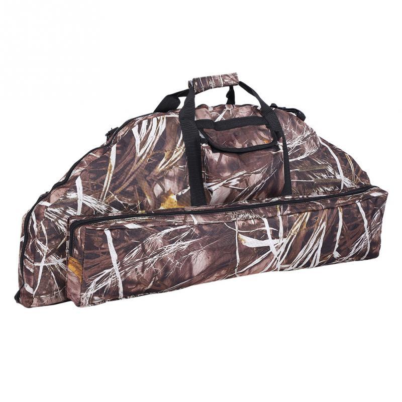 Tactic Military Backpack Folding Hunting Bag Multi-functional Archery Training Oxford Fabric Handbag Adjustable Shoulder Strap