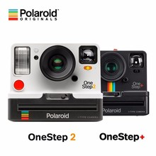 The hot spot Polaroid photograph the Onestep2 VF + of Riders rainbow camera for once imaging in black and white