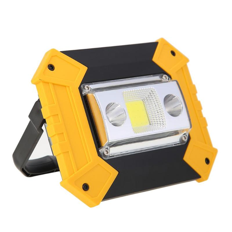 Stalwart Large 60 Led Rechargeable Work Light: Led Portable Spotlight Led Work Light Rechargeable 20W