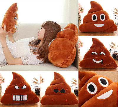 Poo Cushion Pillow Doll Throw Poop-Shape Mini Emotion 4-Types Toy Almofadas Amusing