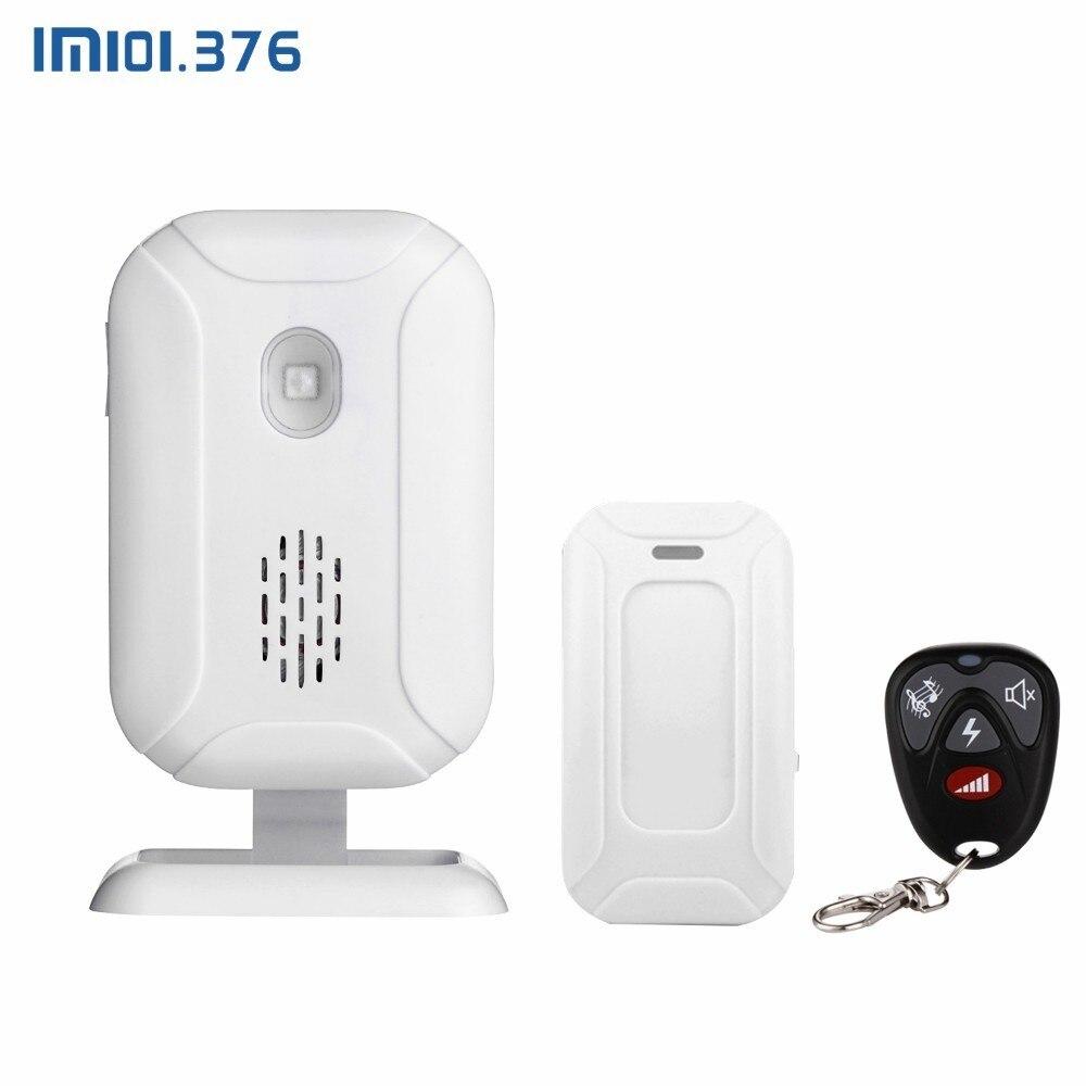 Lm101.376 loja início bem vindo carrilhão sem fio sensor mp3 campainha pir detector de movimento alarme vários modos