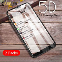 CASEIER Protective Tempered Glass Film For Xiaomi Redmi 5 Plus Note 5 6 Pro HD Glass For Xiaomi Mi 8 Lite Pocophone F1 A2 Lite