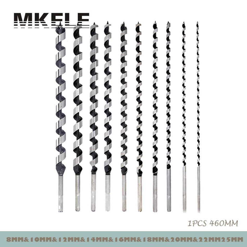 Nouveau foret hélicoïdal 460mm pour le perçage de l'acier métallique outils électriques pour le travail du bois 6/8/10/12/14/16/18/20/22mm Herramientas Ferramentas