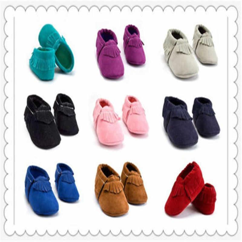 PUDCOCO продавец детские на мягкой подошве замшевые лоферы с кисточками обувь для новорожденных мальчиков и девочек детские мокасины