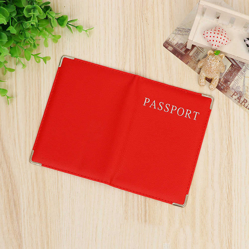 a01462bc261f Brand Cute Passport Cover Women Russia Pink Passport Holder Travel Covers  for Passports Girls Case for Passport PU leather