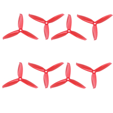 цены на 2 Pairs Gemfan Windancer 5042 5x4.2 Inch PC 3-Paddle Propeller Props CW CCW For FPV Freestyle Frame FPV Drone Quadcopter  в интернет-магазинах